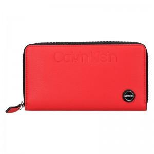 Dámská peněženka Calvin Klein Vanila - červená