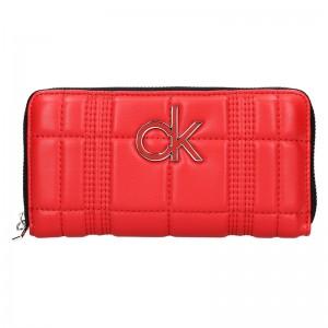 Dámská peněženka Calvin Klein Leona - červená