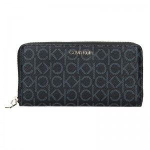 Dámská peněženka Calvin Klein Kaira - černá