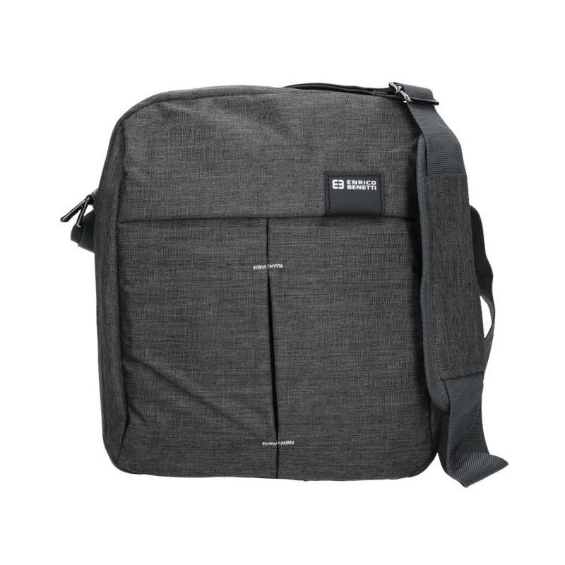 e92271d8a6 Pánská taška přes rameno Enrico Benetti Filip - šedo-černá
