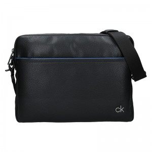 Pánská taška přes rameno Calvin Klein Serb - černá