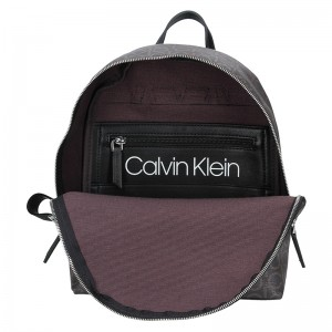 Dámský batoh Calvin Klein Denissa - hnědá
