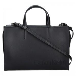 Dámská kabelka Calvin Klein Anetta - černá