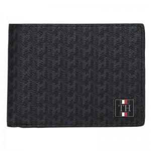 Pánská kožená peněženka Tommy Hilfiger Ismo - černá