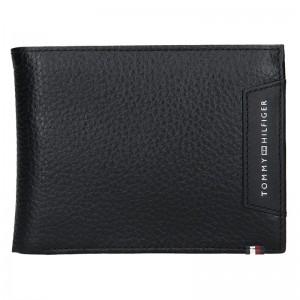 Pánská kožená peněženka Tommy Hilfiger Nestor - černá
