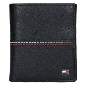 Pánská kožená peněženka Tommy Hilfiger Torsti - černá