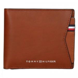 Pánská kožená peněženka Tommy Hilfiger Voitto - hnědá