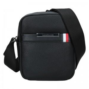 Pánská taška přes rameno Tommy Hilfiger Alsak - černá