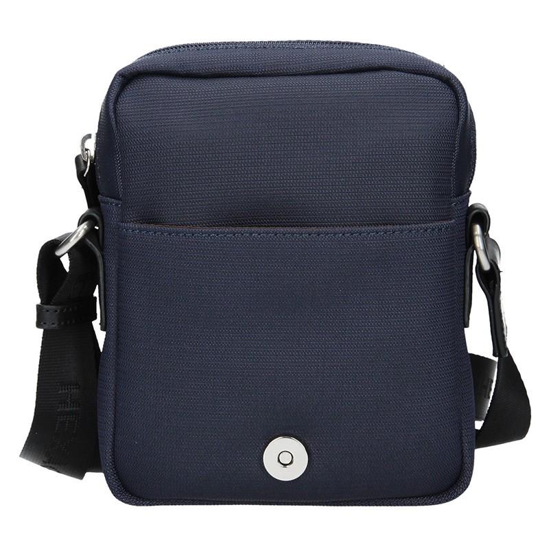 Pánská taška přes rameno Hexagona Renno - černo-modrá