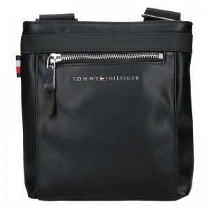Pánská taška přes rameno Tommy Hilfiger Egon - černá