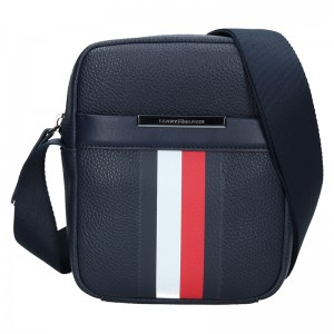 Pánská taška přes rameno Tommy Hilfiger Vilhelm - modrá