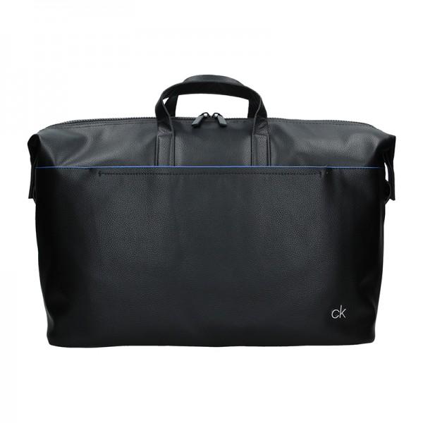 Pánská cestovní taška Calvin Klein Quido - černá