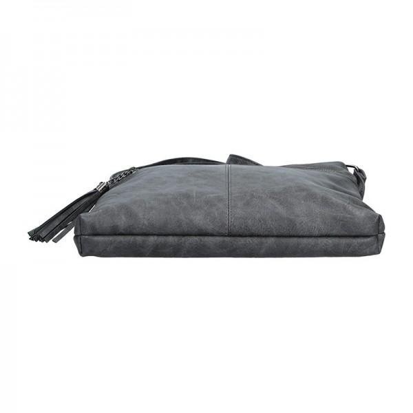 Dámská crossbody kabelka Enrico Benetti 66233 - tmavě šedá