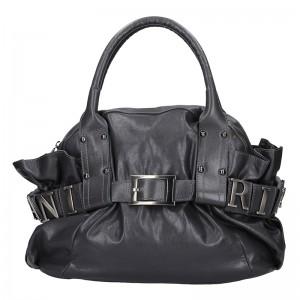 Dámská kožená kabelka Ripani Giada - černá
