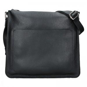 Dámská kožená kabelka Facebag Lima - černá