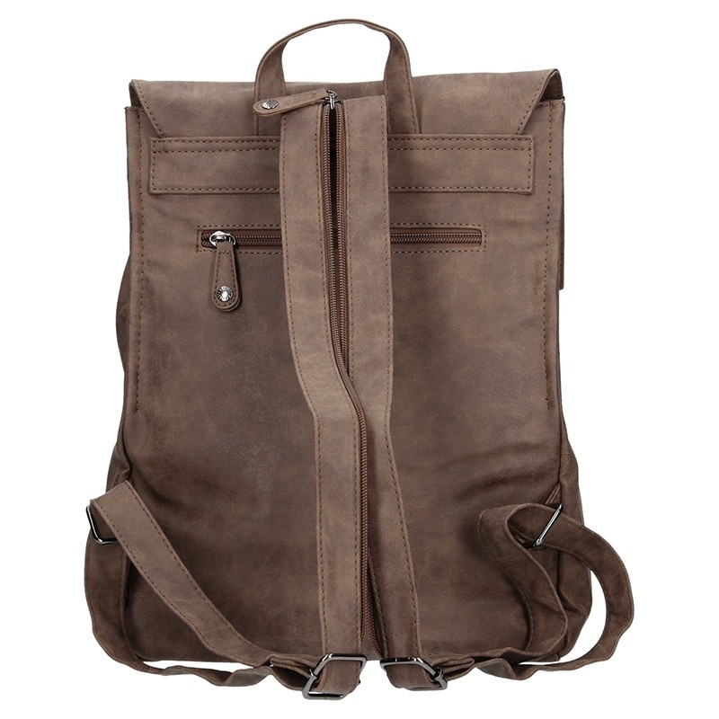 Moderní batoh Enrico Benetti 66195 - tmavě hnědá