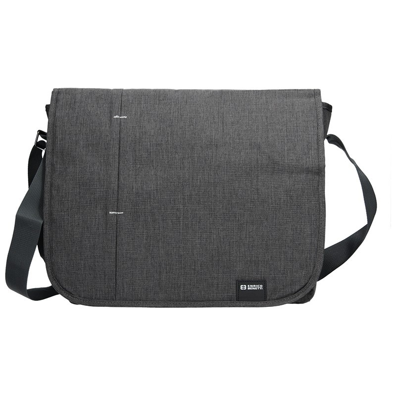 Pánská taška přes rameno Enrico Benetti Monter - šedo-černá