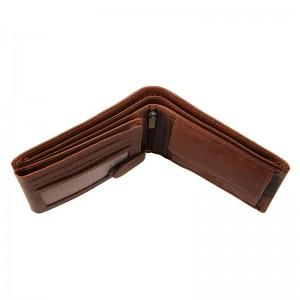 Pánská kožená peněženka SendiDesign Jaromír - koňak