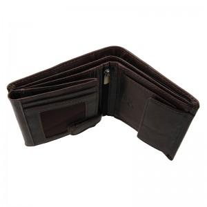 Pánská kožená peněženka SendiDesign Josef - hnědá