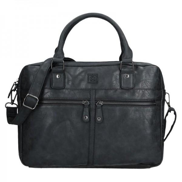 Unisex taška přes rameno Enrico Benetti Ardeche - černá