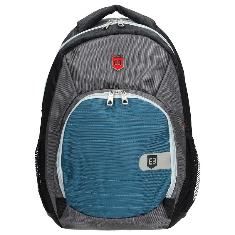 Moderní batoh Enrico Benetti 47071 - modro-šedá