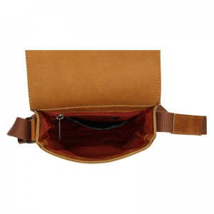 Pánská kožená taška Daag Mario - světle hnědá