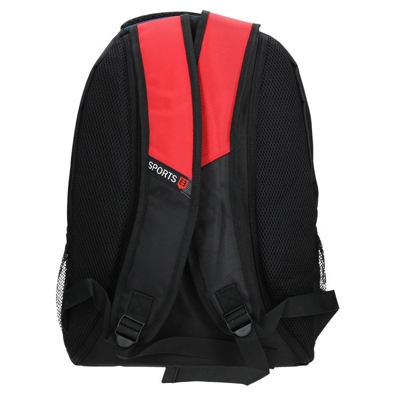 Moderní batoh Enrico Benetti 47071 - modro-červená