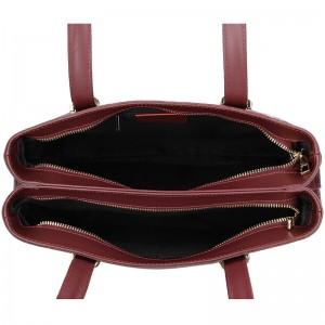 Dámská kožená kabelka Vera Pelle Nicoll - černá