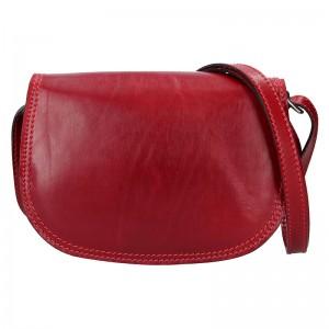 Dámská crosbody kabelka Delami Leona - červená