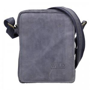 Pánská taška přes rameno Always Wild Ceasar - modrá