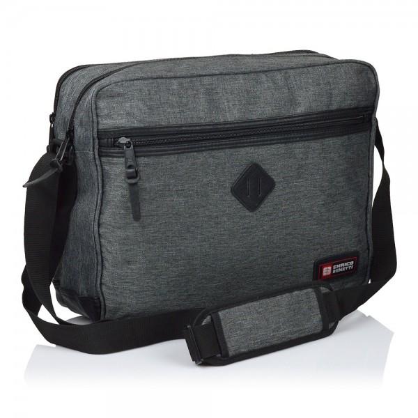 Pánská taška přes rameno Enrico Benetti Montana - tmavě šedá