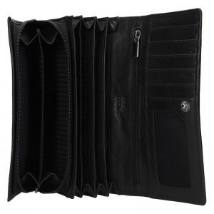 Dámská kožená peněženka SendiDesign Aneta - černá