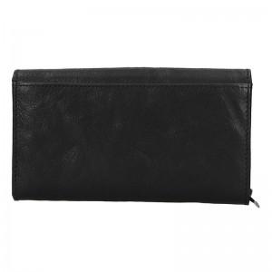 Dámská kožená peněženka SendiDesign Monic - černá