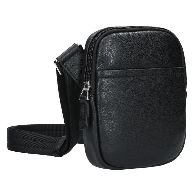 Pánská taška na doklady Hexagona Vilém - černá