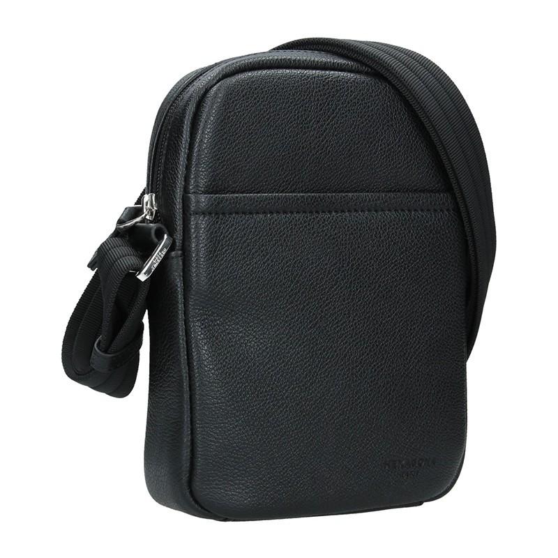 Pánská taška na doklady Hexagona Augusto - černá