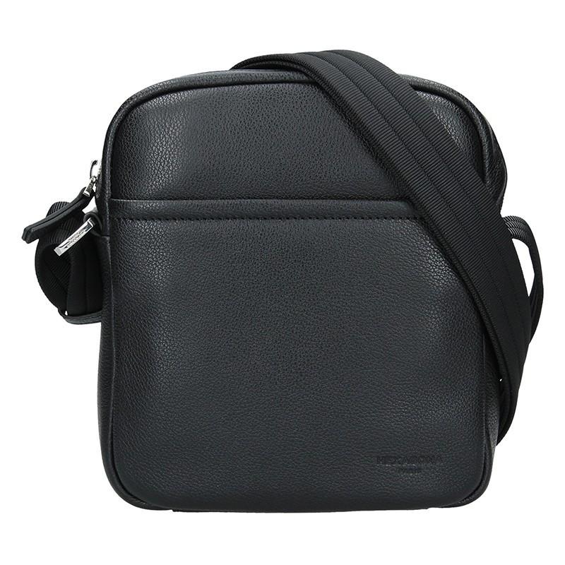 Pánská taška na doklady Hexagona Kolen - černá
