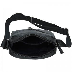 Pánská taška na doklady Hexagona Kolen - černo-hnědá