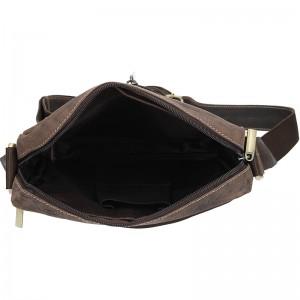 Pánská taška přes rameno Always Wild Frencis - tmavě hnědá