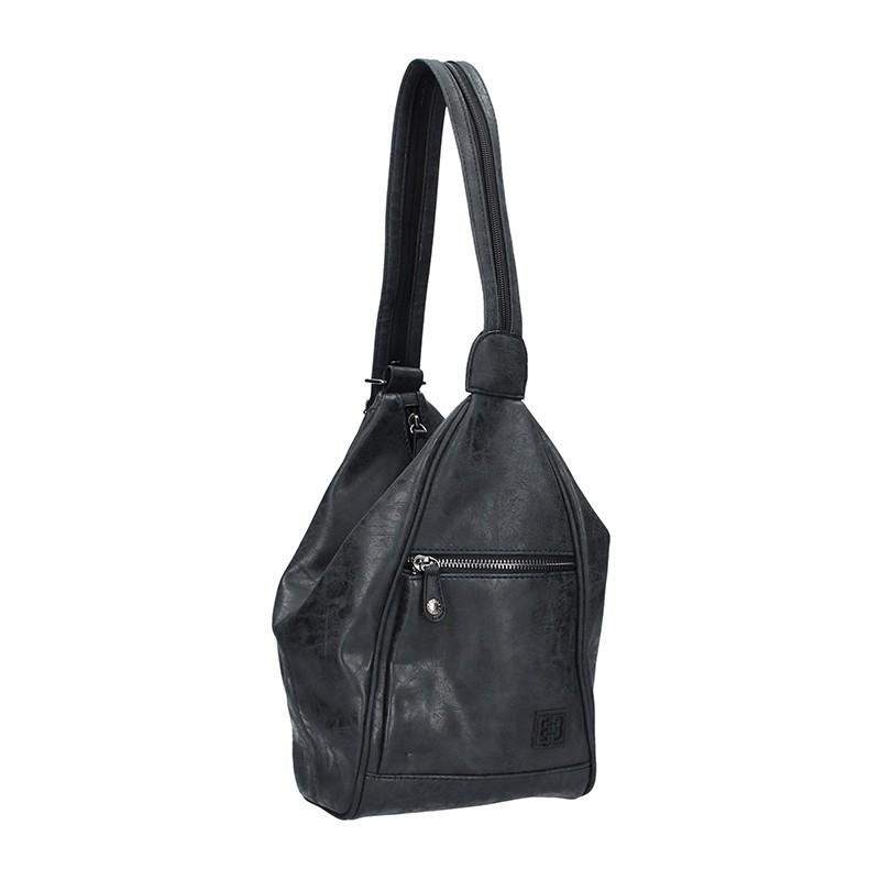 Moderní dámský batoh Enrico Benetti 66250 - černá