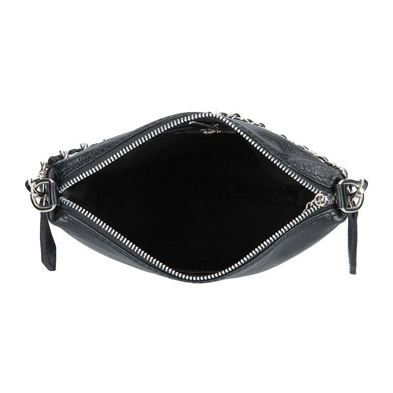 Dámská kožená kabelka Facebag Marta - černá