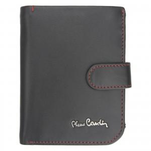 Pánská kožená peněženka Pierre Cardin Torstein - černo-červená