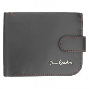 Pánská kožená peněženka Pierre Cardin Maren - černo-červená