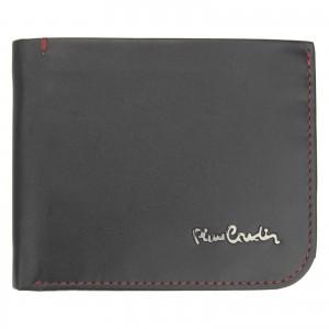 Pánská kožená peněženka Pierre Cardin Rikke - černo-červená