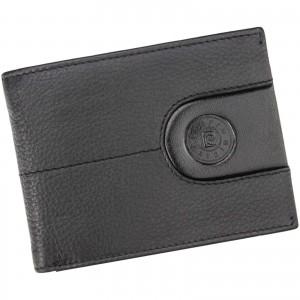 Pánská kožená peněženka Pierre Cardin Gerd - černá