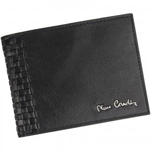 Pánská kožená peněženka Pierre Cardin Oddfrid - černá