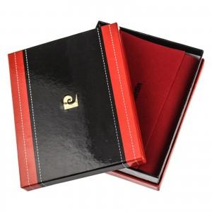 Pánská kožená peněženka Pierre Cardin Ingvild - černá