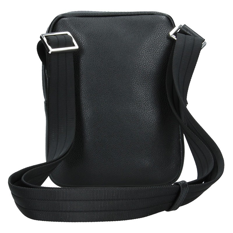 Pánská taška na doklady Hexagona Ruben - černo-modrá