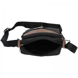 Pánská taška přes rameno Always Wild Taran - černo-hnědá