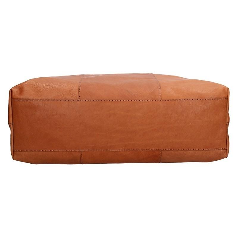 Dámská kožená kabelka Facebag Gwen - hnědá