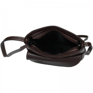 Dámská crosbody kabelka Vera Pelle Rella - černá